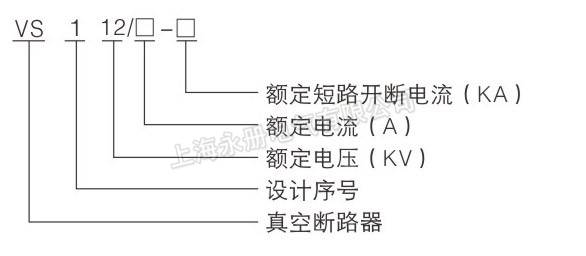 vs1真空断路器型号及含义